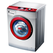 Haier/海尔 滚筒洗衣机 XQG60-QHZB1281(银灰)