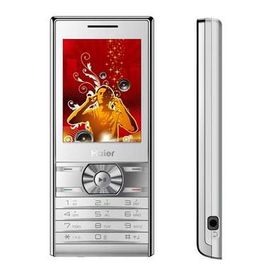 Haier/海尔 2G手机 HG-V630手机(精睿银)(精华版)