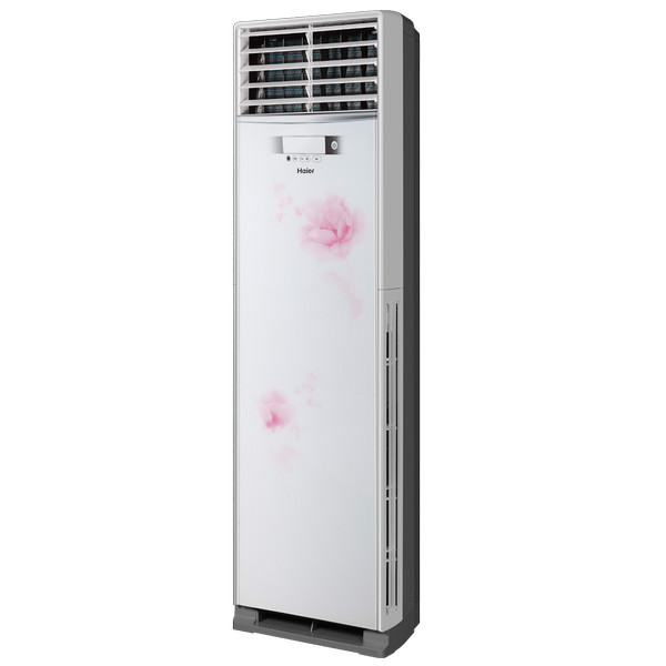 Haier/海尔                         无氟变频柜式空调                         KFR-72LW/06HBQ22套机(天香牡丹)