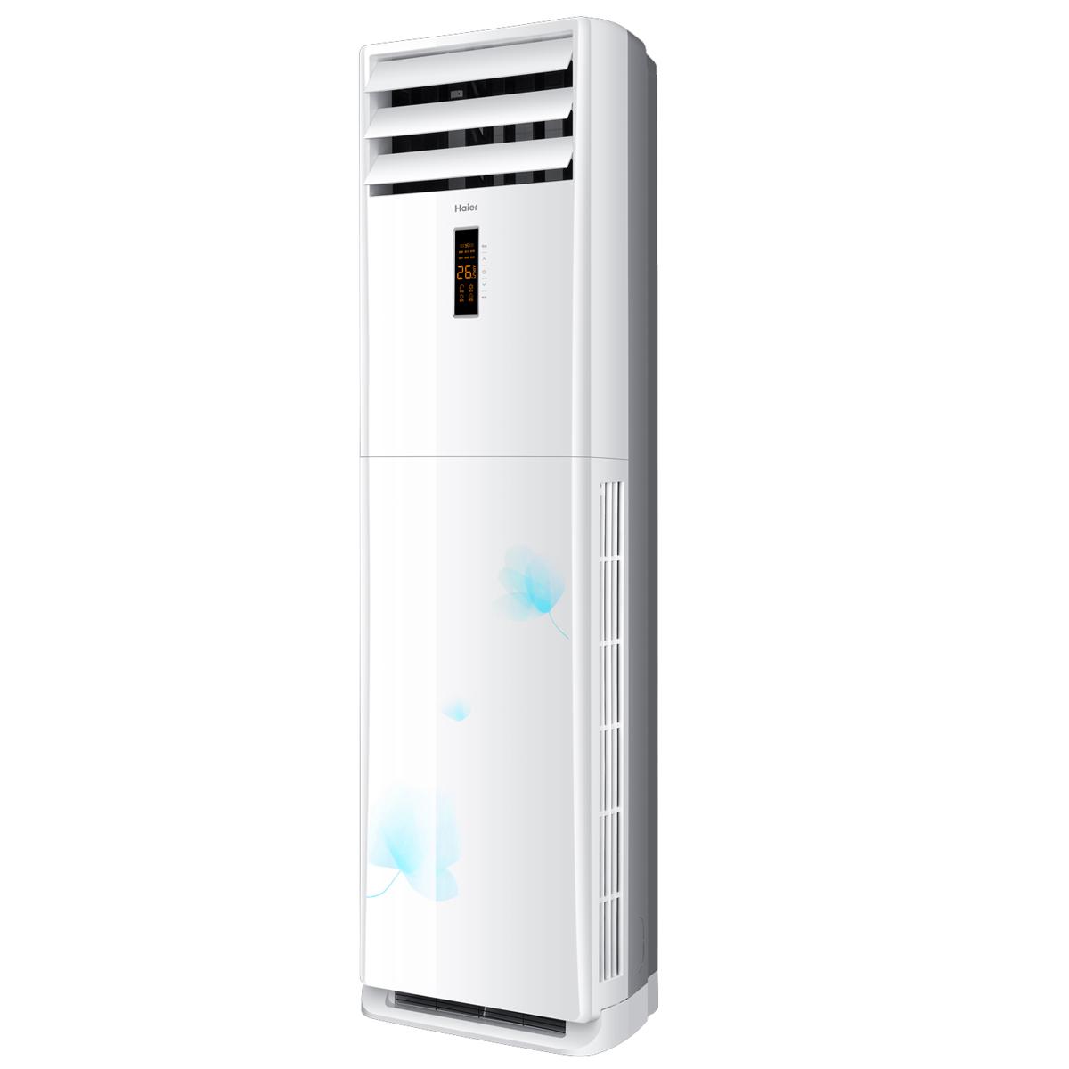 海尔柜机空调说明书_【Haier/海尔KFR-50LW/02ZAC12(花开时节)套机】Haier/海尔高效定频柜式 ...