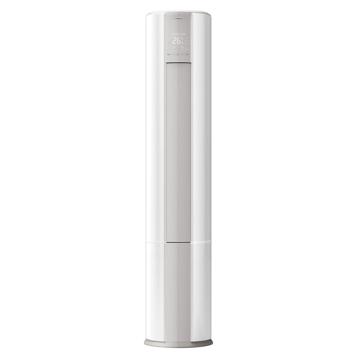 海尔无氟变频柜式空调 KFR-50LW/07GAC22A(茉莉白)套机