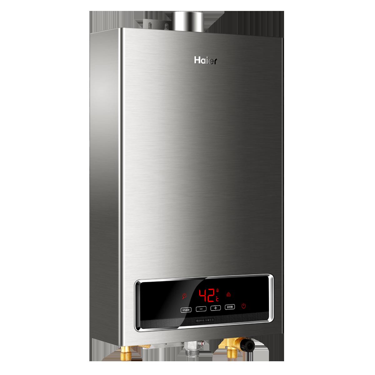海尔燃气热水器 jsq24-e3(12t)(拉丝)