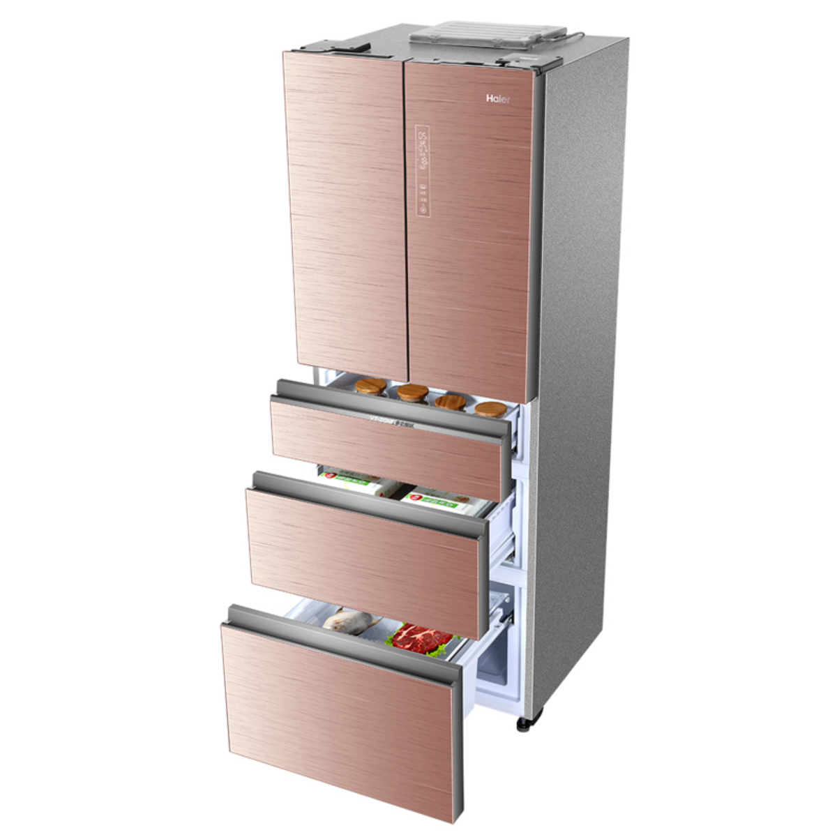 海尔冰箱BCD-405WDGQU1