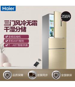 BCD-258WDVMU1 258升变频风冷WIFI干湿分储家用小冰箱