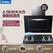 Haier/海尔 厨房电器 E800C6T+QE7B/侧吸/自清洗/4.5KW大火力/天然气